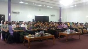 pertemuan bersama forum pimpinan daerah (Forminda) di Pendopo Bupati Paser (foto : Syifa)