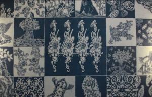 Mangrove menginspirasi pembuat batik di Balikpapan. Foto: setiyono