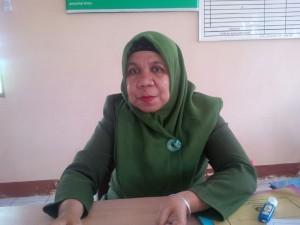 Staf bidang pelatihan UPTD BLK Balikpapan, Ningsih.(foto: syfa)