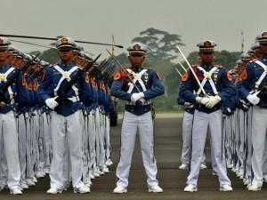 Pasukan Akmil tampak gagah. (foto: ist)